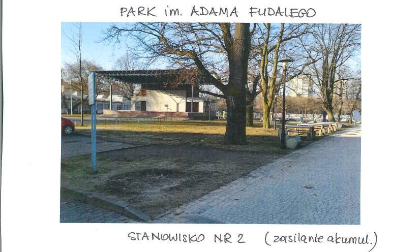 Park im. Adama Fudalego - stanowisko nr 2